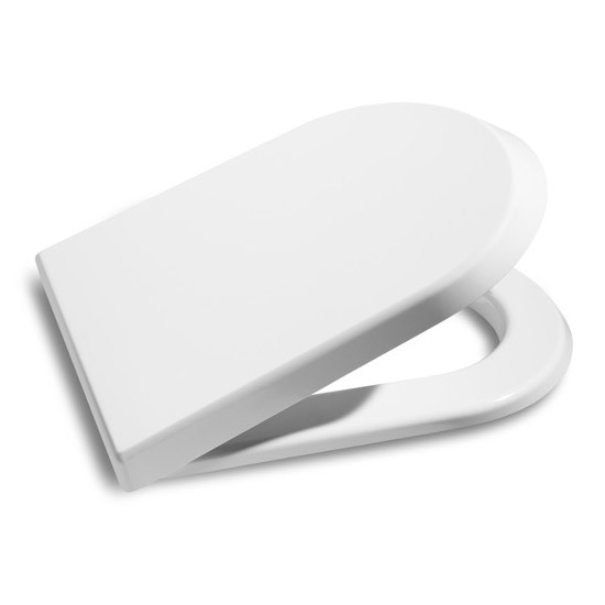 Roca Nexo Compact BTW Close Coupled Toilet with Soft-Close Seat Profile Large Image