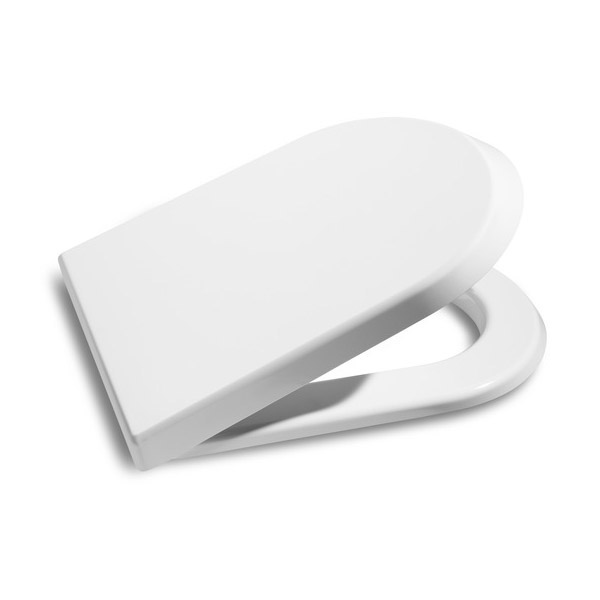 Roca Nexo Wall Hung Pan and Soft-Close Seat profile large image view 2