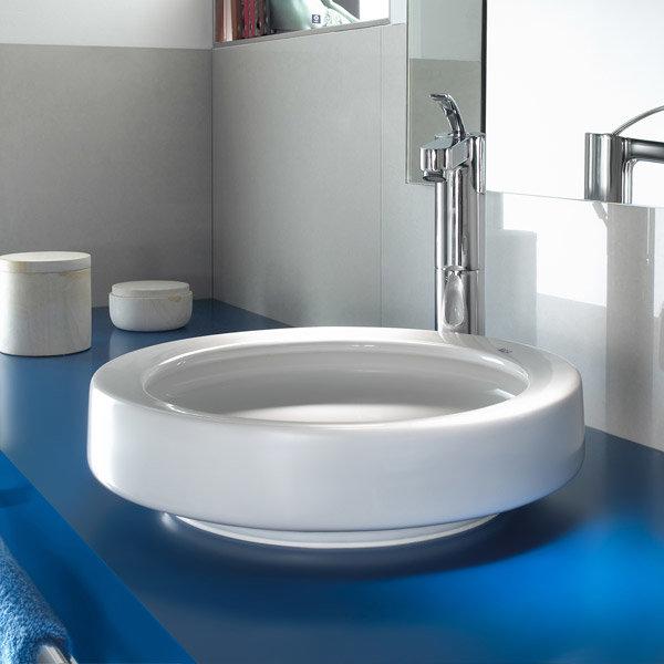 Roca - Orbita 420mm Countertop basin - 327222000 Profile Large Image