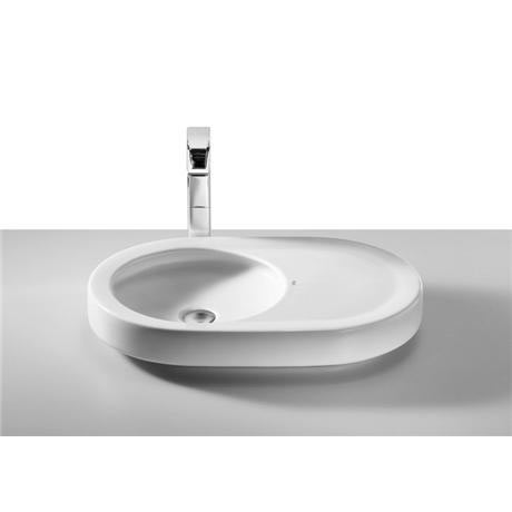 Roca - Orbita 630mm Countertop basin - 0 tap hole - 327223000