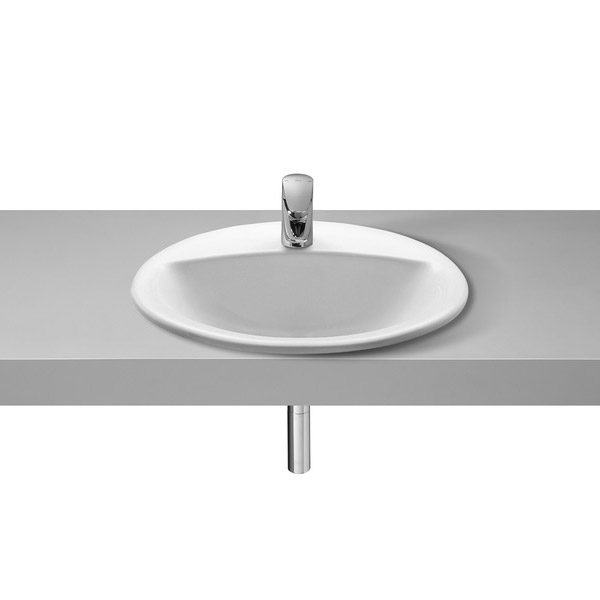 Roca Rodeo 520 x 410mm In countertop 1TH Basin - 327866000 profile large image view 1