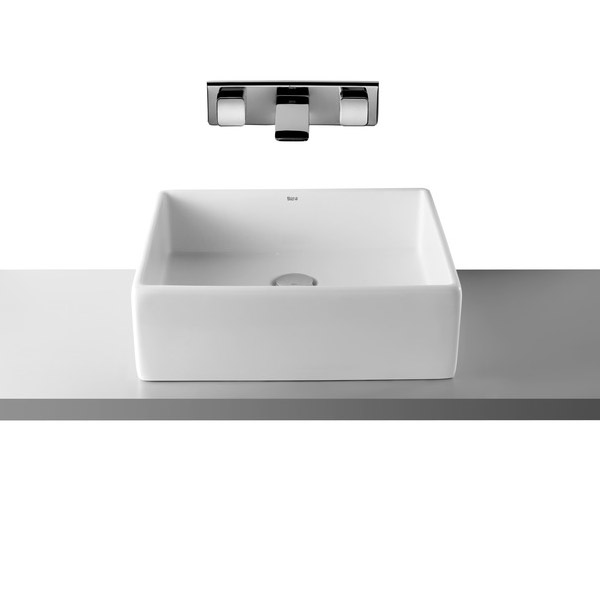 Roca Sofia 465 x 415mm Over countertop Basin 0TH - 327720000 Large Image
