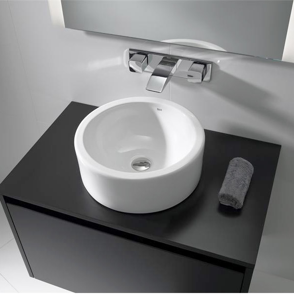Roca Terra 390mm Over countertop Basin 0TH - 32722D000 profile large image view 2