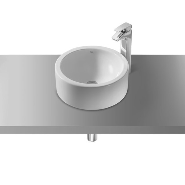 Roca Terra 390mm Over countertop Basin 0TH - 32722D000 profile large image view 1