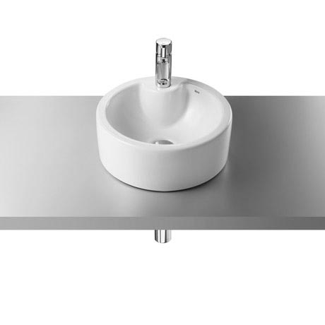 Roca Terra 390mm Over countertop 1TH Basin - 32722T000