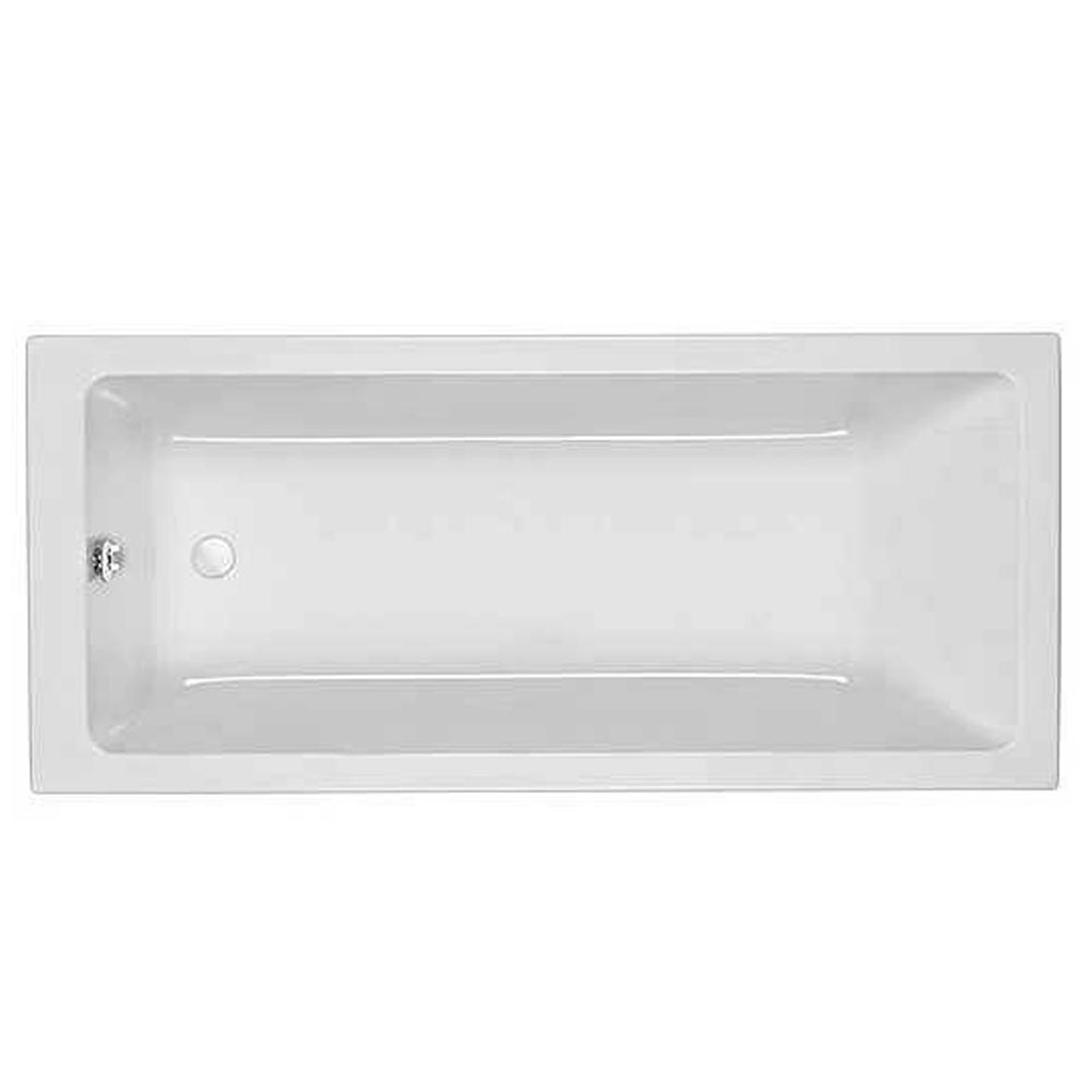Roca The Gap Acrylic Bath 1700 x 700mm 0TH - 024717000 profile large image view 1