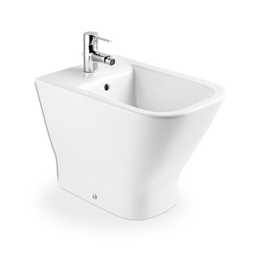Roca the gap floor standing back to wall bidet for Desague bidet