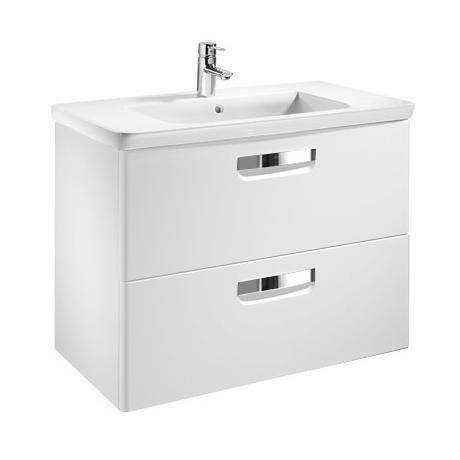 Roca - The Gap Unik Wall Hung 2 Drawer Vanity Unit with Basin W600 x D440mm
