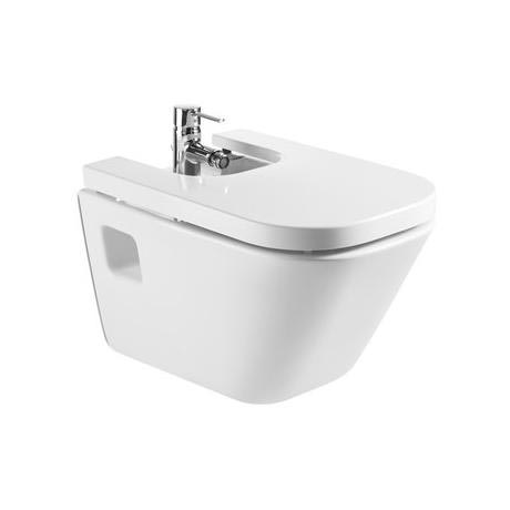 Roca - The Gap Wall hung bidet with soft-close cover