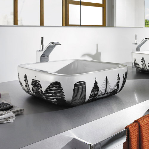 Roca - Urban London Countertop Basin - 400 x 400mm - White - 32765L00U Profile Large Image