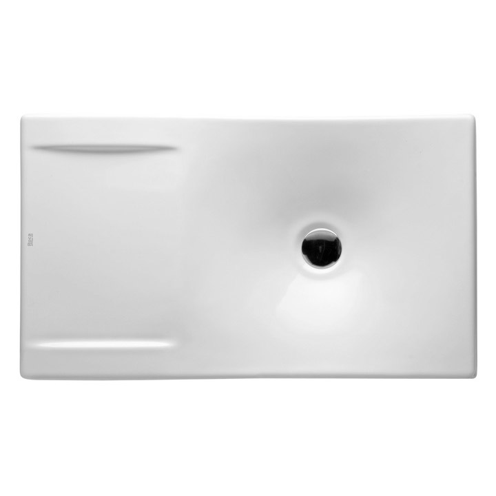 Roca Urbi 2 660 x 380mm Over countertop vitreous china basin 0TH - 327226000 profile large image view 2