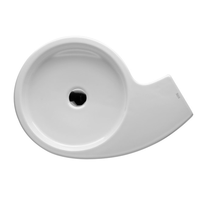 Roca Urbi 3 580 x 400mm Over countertop Basin 0TH - 327228000 Profile Large Image