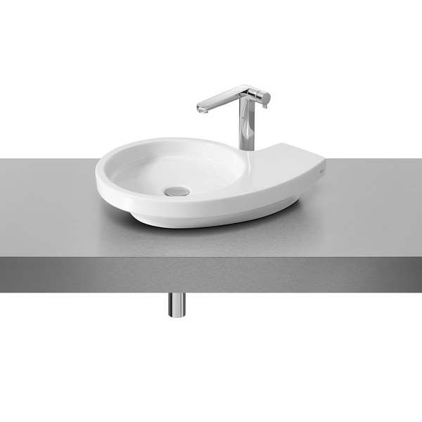 Roca Urbi 3 580 x 400mm Over countertop Basin 0TH - 327228000 Large Image