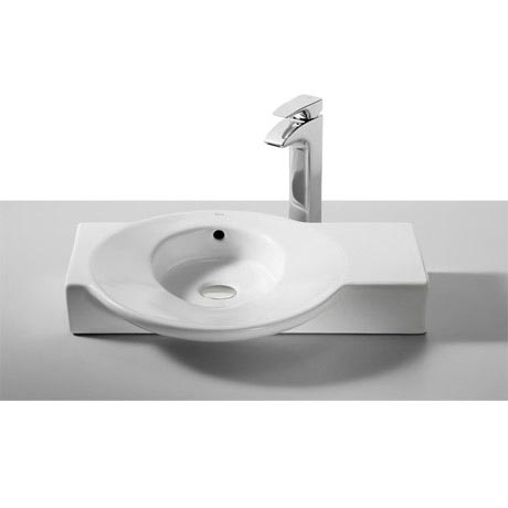 Roca Urbi 4 600 x 450mm Over countertop Basin 0TH - 32722C000