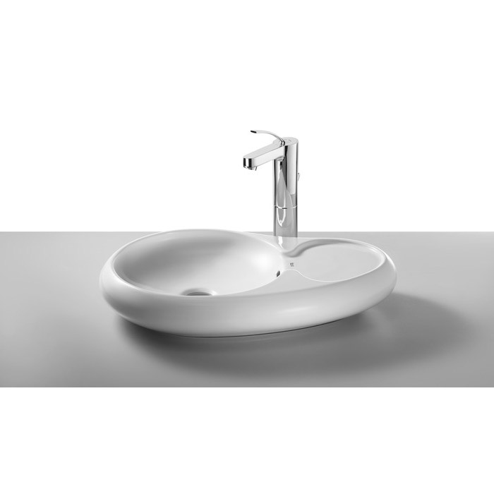 Roca Urbi 7 600 x 400mm Over countertop Basin 0TH - 327227000 profile large image view 1