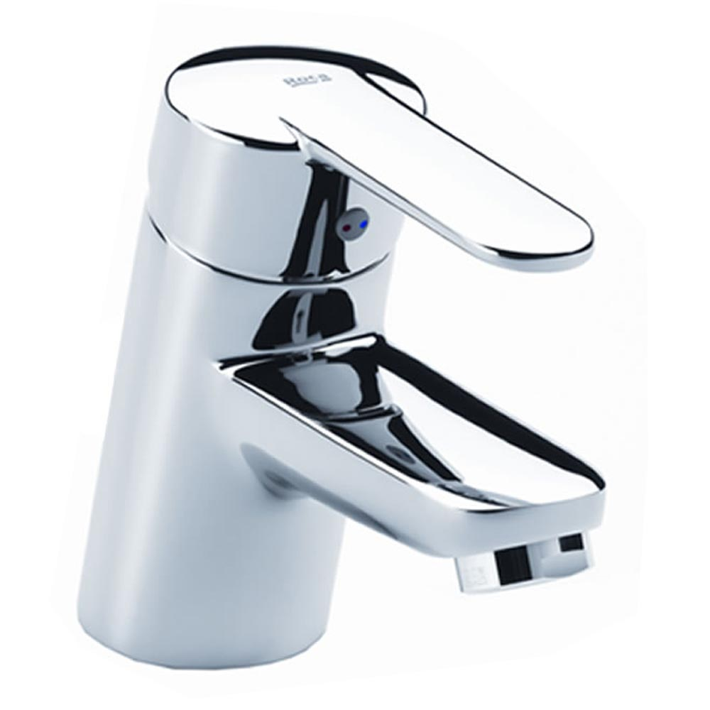 Roca Victoria V2 Smooth Body Basin Mixer - 5A3209C0R Large Image