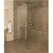 Roman - Embrace Glass Linear Wetroom Panel - Various Size Options Medium Image