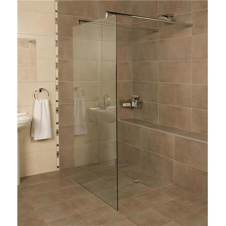 Roman - Embrace Glass Linear Wetroom Panel - Various Size Options