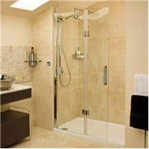 Roman - Embrace Walk In Shower Enclosure - Left hand - Various Size Options Medium Image