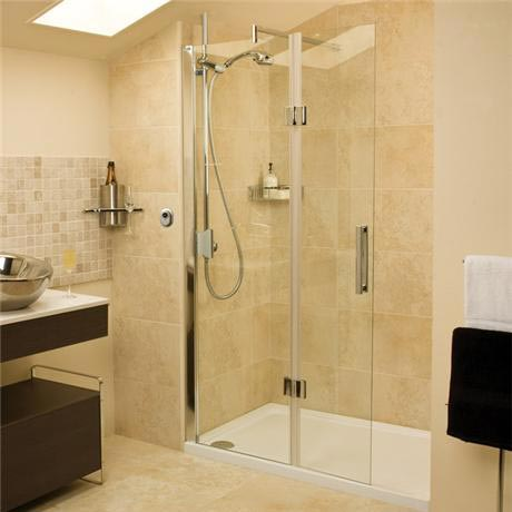 Roman - Embrace Walk In Shower Enclosure - Left hand - Various Size Options