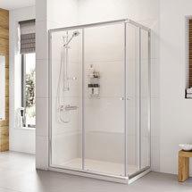 Roman Haven 1900mm Offset Corner Entry Shower Enclosure Medium Image