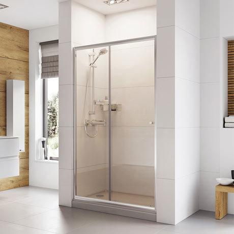 Roman Haven 1900mm Sliding Door Shower Enclosure