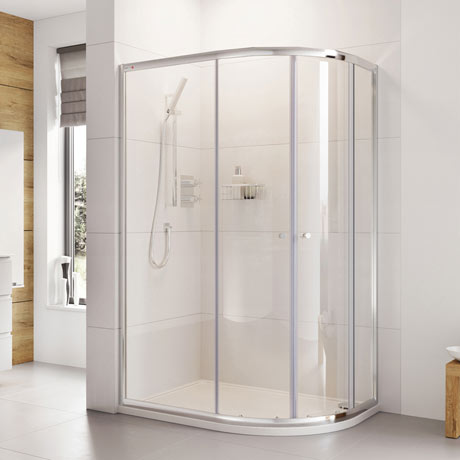Roman Haven 1900mm Two Door Offset Quadrant Shower Enclosure