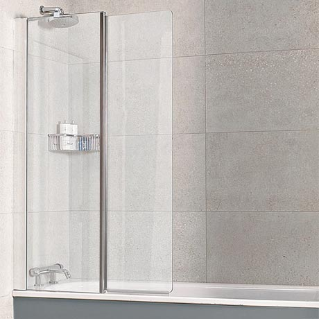 Roman Haven Inward Folding Bath Screen - H2D6CS