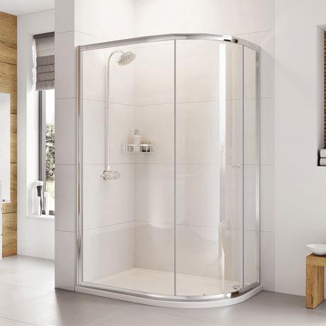 Roman Haven 1900mm One Door Offset Quadrant Shower Enclosure