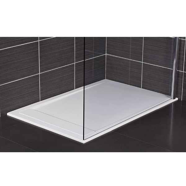 Roman Infinity 40mm Low Profile Stone Rectangular Shower
