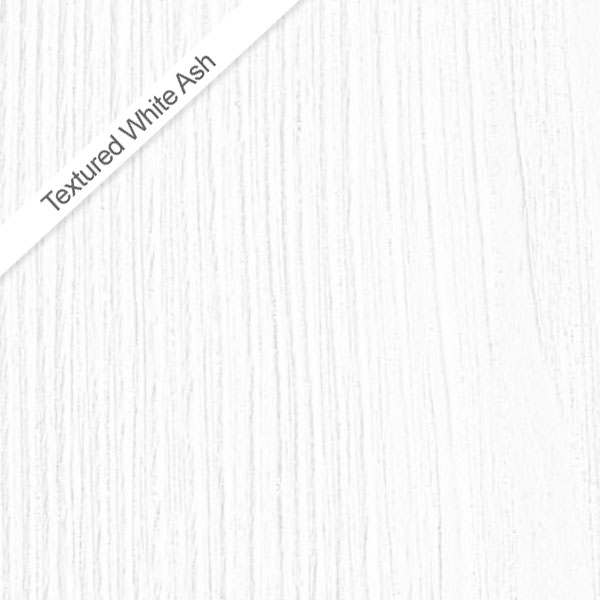 Ronda White Ash 600mm Wide Wall Mounted Vanity Unit Standard Large Image