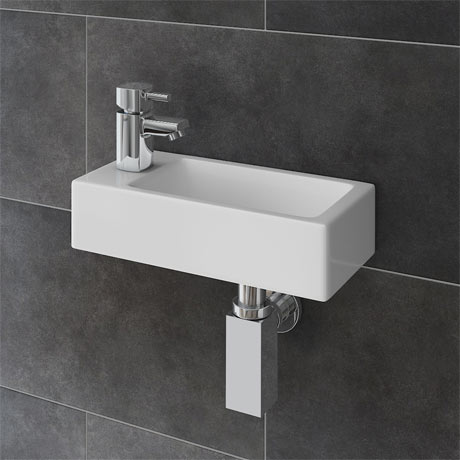 what is the small sink in european bathrooms rondo wall hung small cloakroom basin package 26468