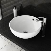 Round Counter Top Basin with Tap Package Medium Image