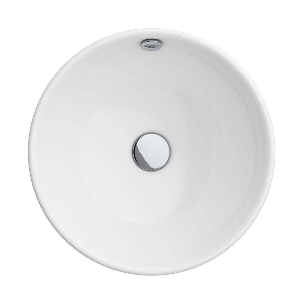 Runda Round Counter Top Basin 0TH - 370mm Diameter Profile Large Image