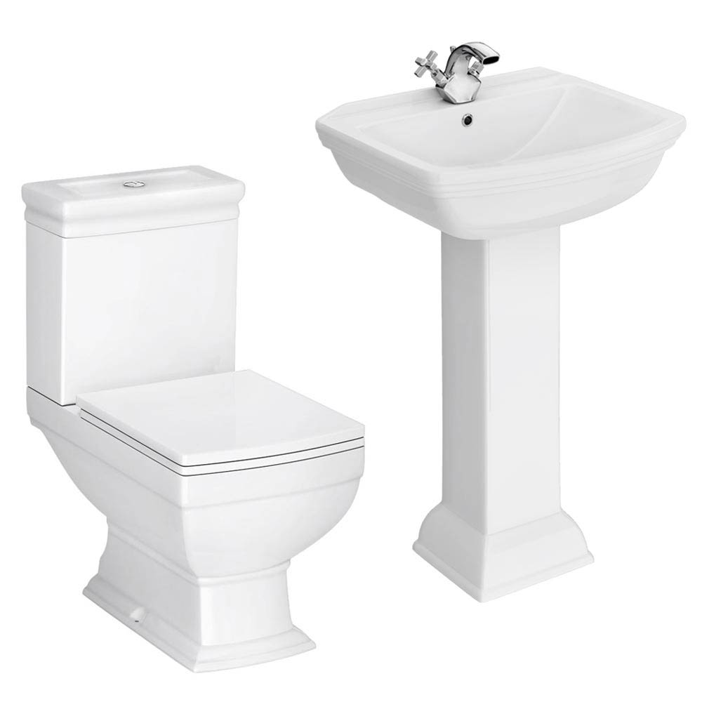 Rydal 4-Piece Traditional Bathroom Suite Large Image