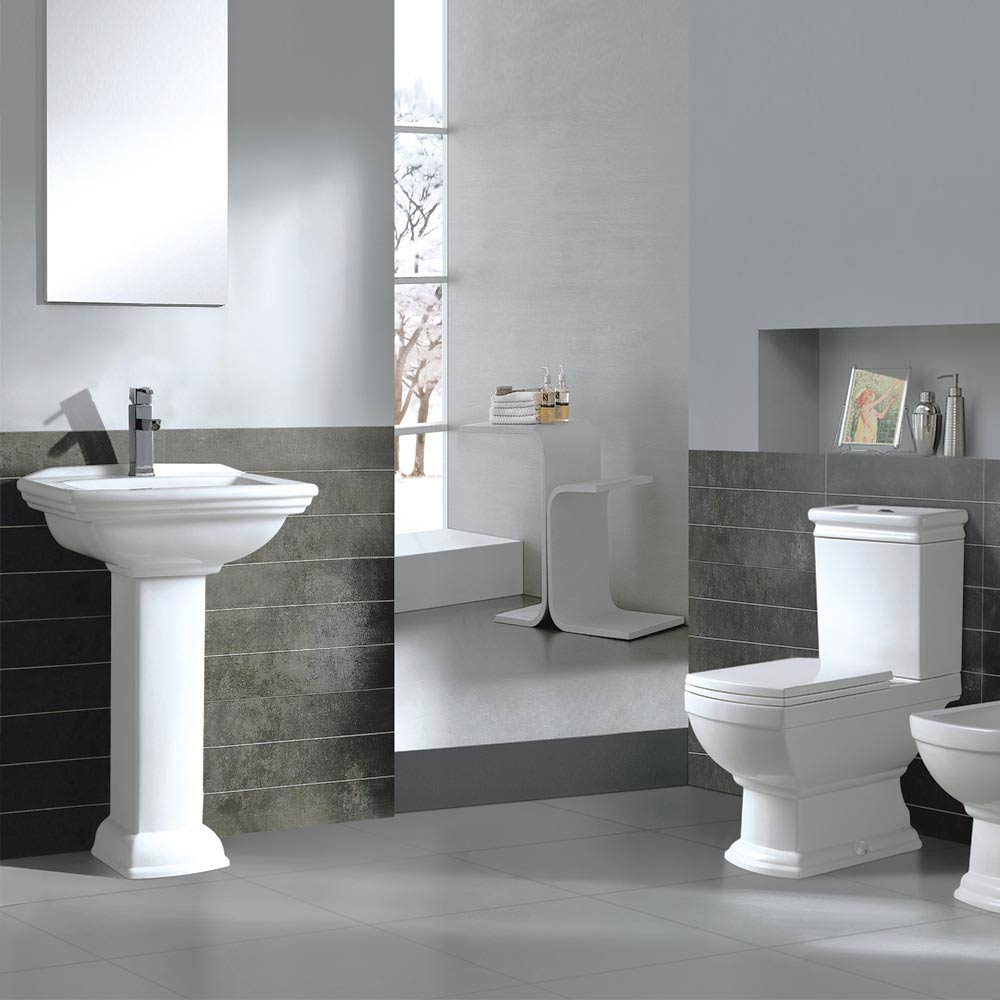 Rydal 4-Piece Traditional Bathroom Suite  Profile Large Image