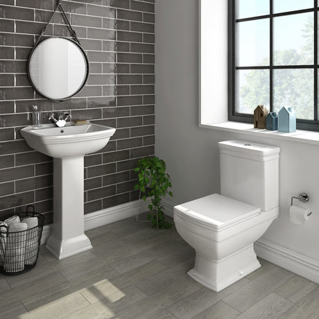 Rydal 4-Piece Traditional Bathroom Suite