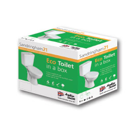 Armitage Shanks - Sandringham21 'Eco Toilet To Go' Boxed Pack - S050201 profile large image view 2