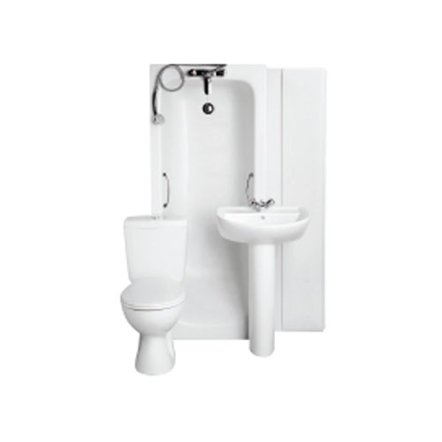 Armitage Shanks - Sandringham21 1TH Bathroom To Go Pack - S050001 Large Image