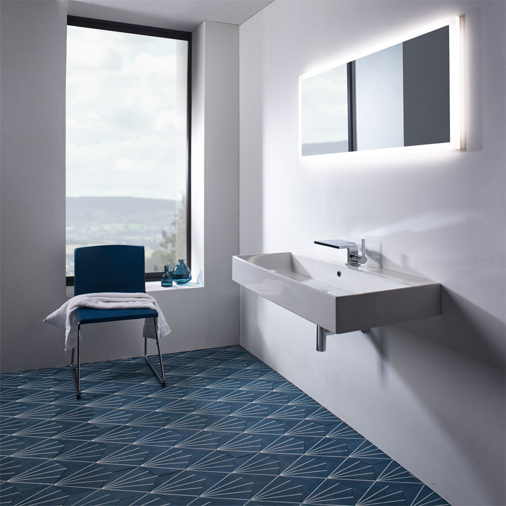 Roper Rhodes Statement 1000mm Wall Mounted or Countertop Basin - S100SB Profile Large Image