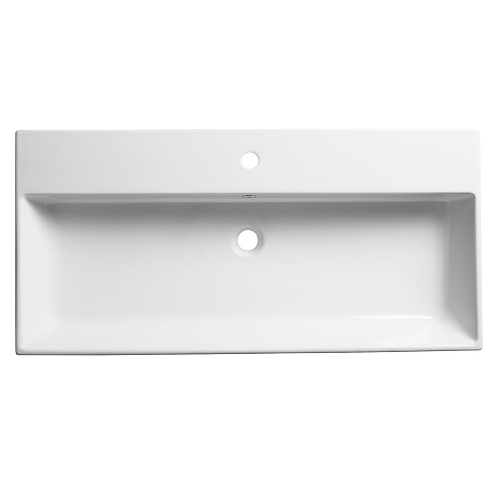 Roper Rhodes Statement 1000mm Wall Mounted or Countertop Basin - S100SB Large Image