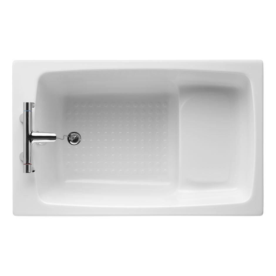 Armitage Shanks Showertub 1200 x 750mm 2TH Idealform Shower Bath - S125401