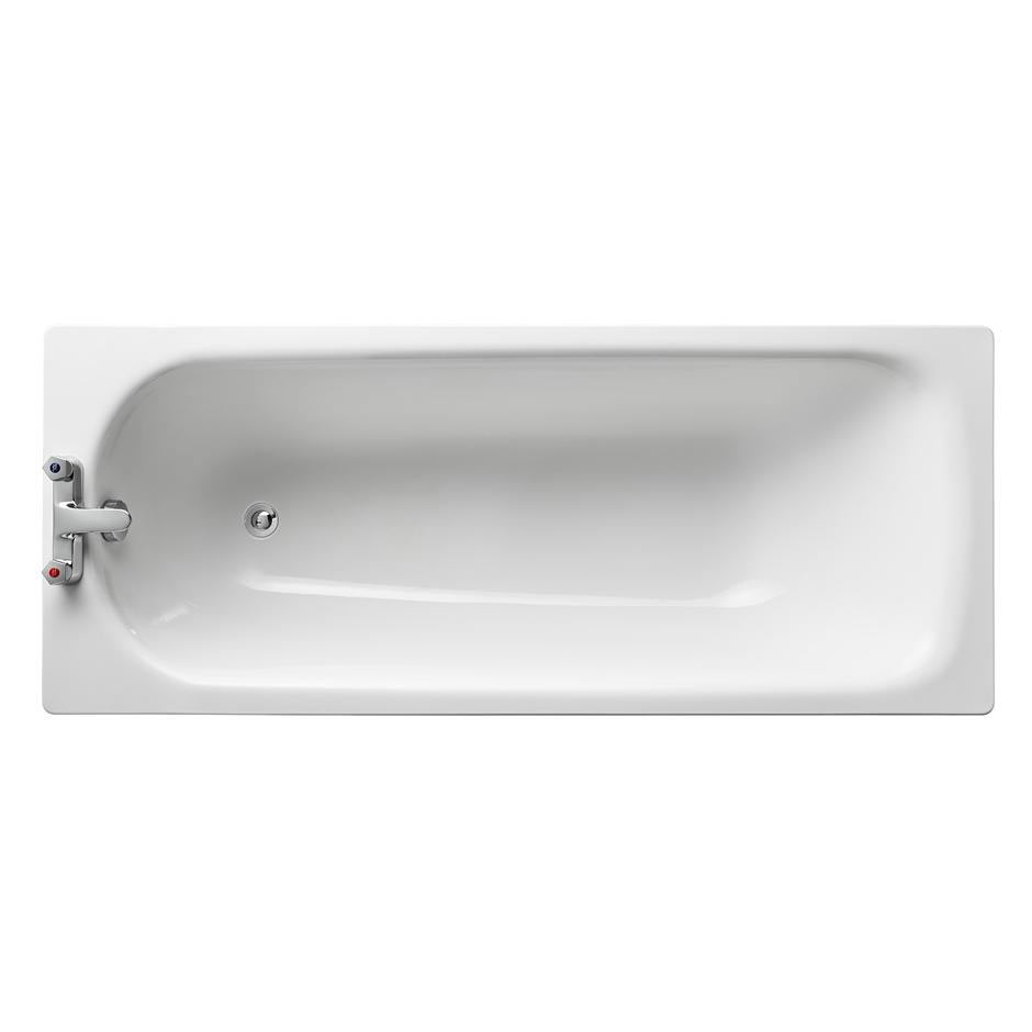 Armitage Shanks Sandringham 21 1700 x 700mm 2TH Steel Bath - S183601