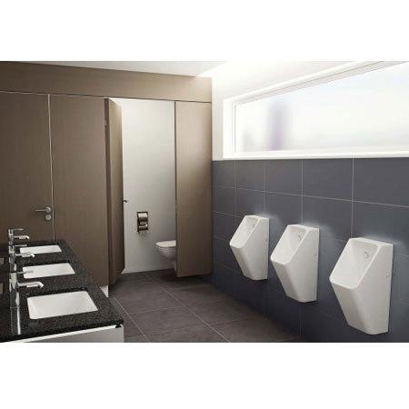 Vitra - S20 Model Syphonic Urinal (back water inlet) - 3 Options Profile Large Image
