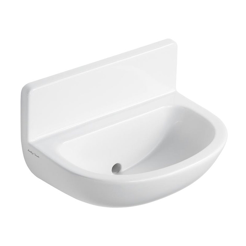 Armitage Shanks - Contour21 50cm Upstand Basin with Back Outlet - S214401 profile large image view 1