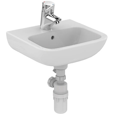 Armitage Shanks Portman 21 40cm 1TH Washbasin (With Overflow) - S215701