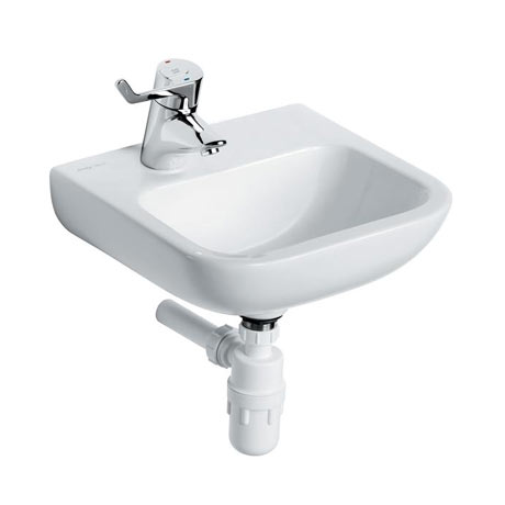 Armitage Shanks Portman 21 40cm Left Hand Taphole Washbasin (No Overflow) - S215901