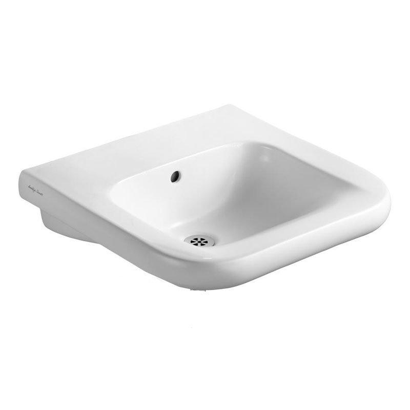 Armitage Shanks - Contour21 60cm Accessible Washbasin - 3 x Tap Hole Options profile large image view 1