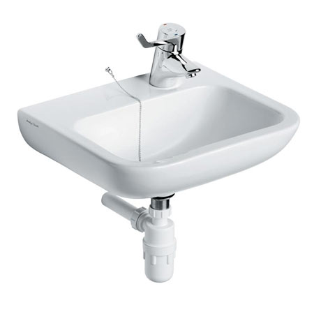 Armitage Shanks Portman 21 50cm Right Hand Taphole Washbasin (No Overflow) - S225401