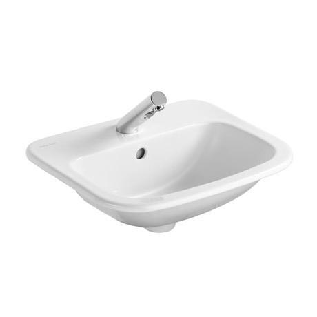 Armitage Shanks - Planet21 50cm Countertop basin - 1TH with Overflow No Chainhole - S248401